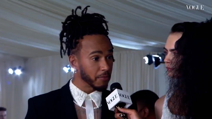 Lewis Hamilton buys Met Gala table and invites up-and-coming Black designers