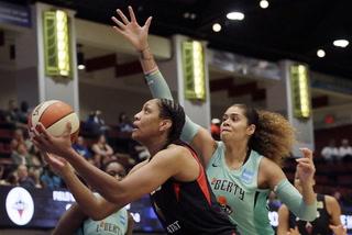 Las Vegas Aces Highlights vs. New York Liberty (Las Vegas Aces/WNBA)