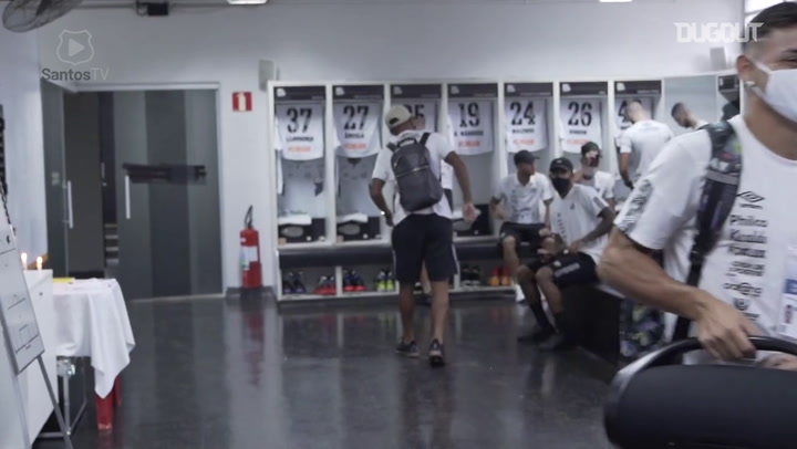 Behind the scenes of Santos' draw against Ferroviária