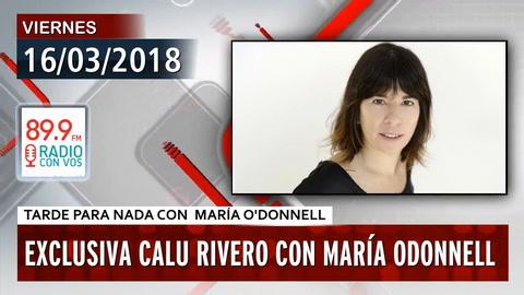 Calu Rivero contó en televisión más detalles sobre el acoso que sufrió de Juan  Darthés