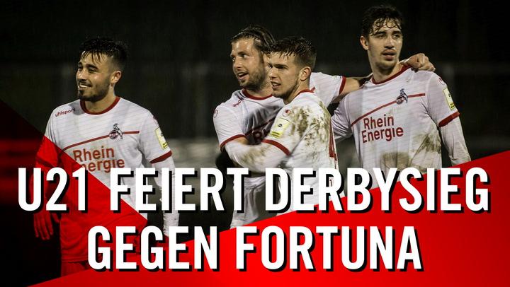 U21-Highlights gegen Fortuna Düsseldorf II