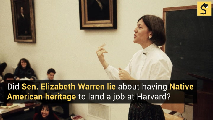 Memes Assert That Senator Elizabeth Warren Lives In A Multi Million Dollar  Mansion And Relied On Scant Native American Heritage Claims To Land A Job  At ...