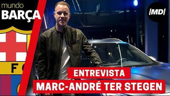 Entrevista con Marc Andre ter Stegen, embajador de Cupra