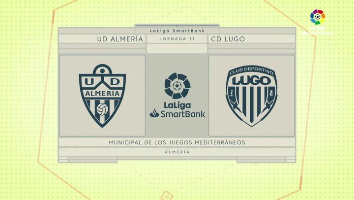 LaLiga SmartBank (J11): Resumen Almería 0-0 Lugo