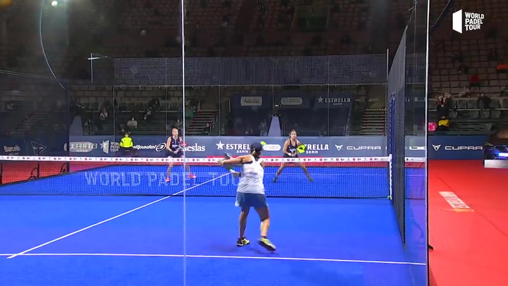 Resumen semifinal femenina Triay / Sainz Vs Salazar / Sánchez Estrella Damm Barcelona Master