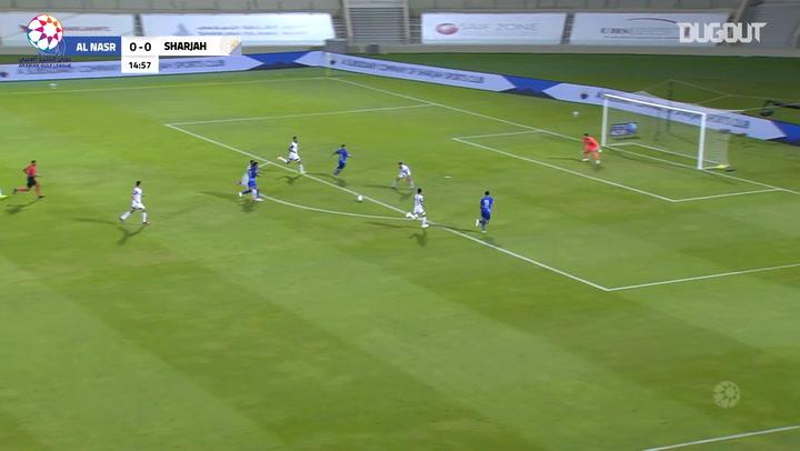 Highlights: Sharjah 2-1 Al-Nasr