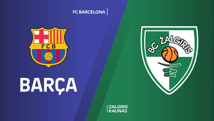 El resumen del FC Barcelona - Zalgiris Kaunas de Euroliga