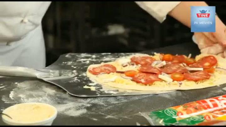 Hvordan lage italiensk pizza