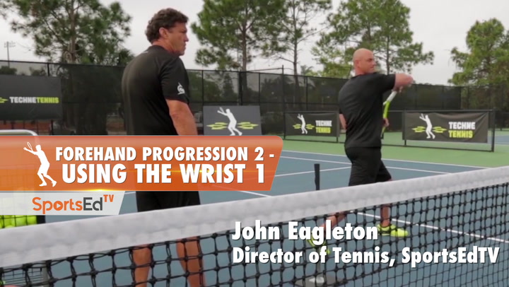Forehand Progression 2 - Using The Wrist Part 1