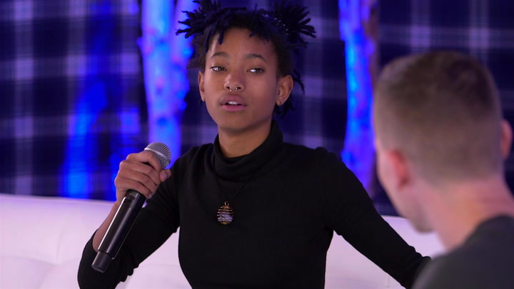 Willow Smith Talks Performing