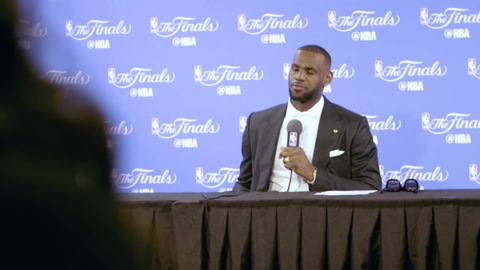 LeBron: NBA Finals, Post-Game 2