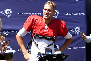 Rams QB Jared Goff gives the Raiders some advice for Hard Knocks – VIDEO