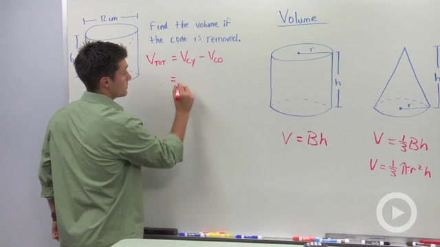 Volume of Cones - Problem 3