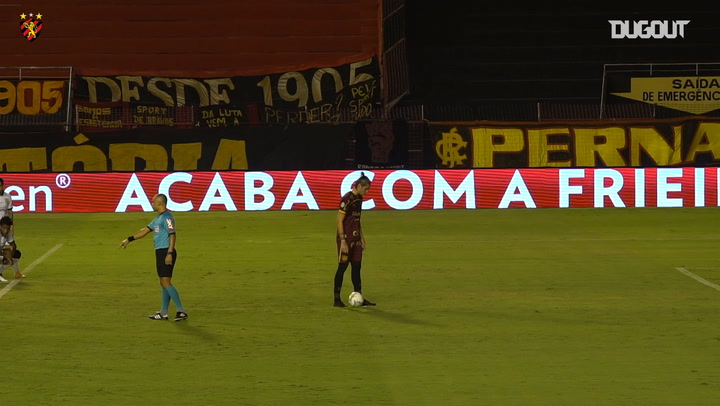 Iago Maidana secures Sport Recife win over Corinthians
