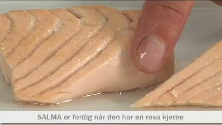 Hvordan lage porchert Salma-laks