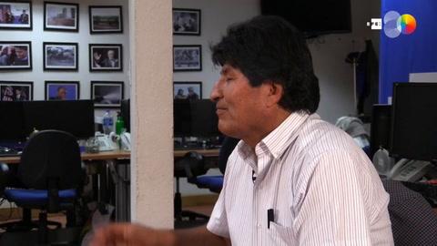 Evo Morales pide un gran diálogo en Bolivia