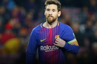Messi es reconocido como el mejor jugador del mes en la liga española