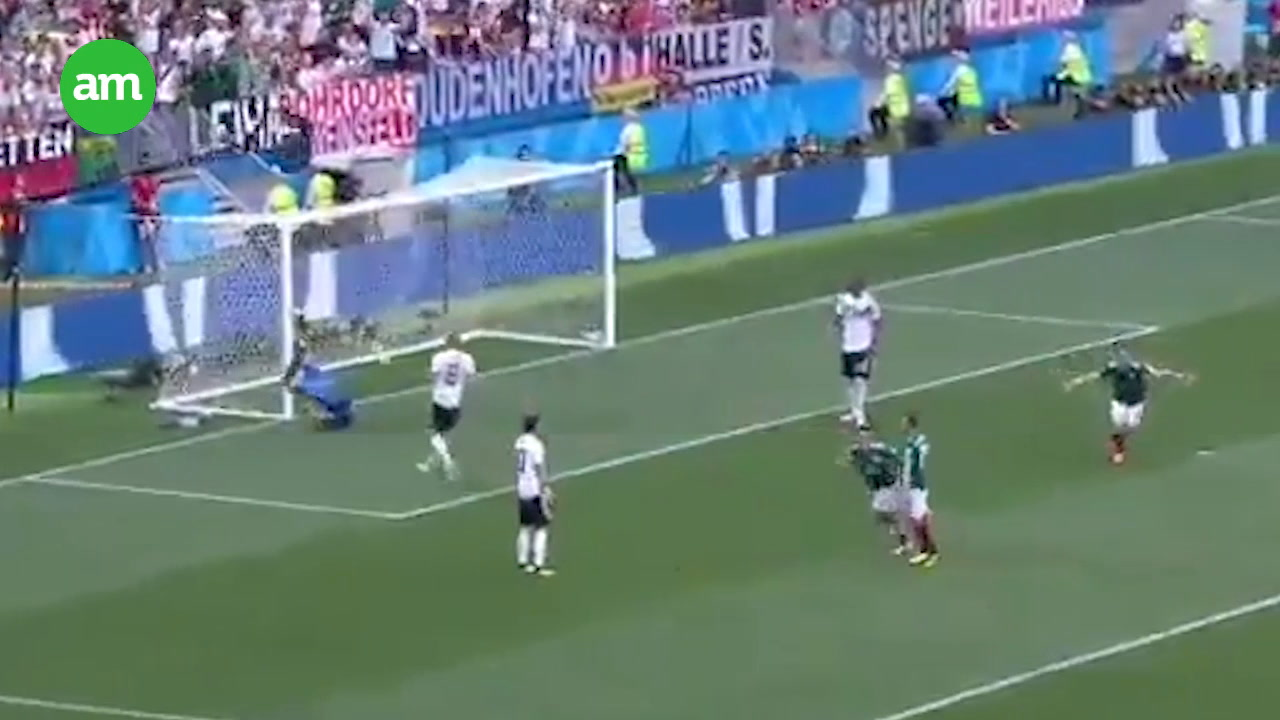 Video: ¡México le gana a Alemania!