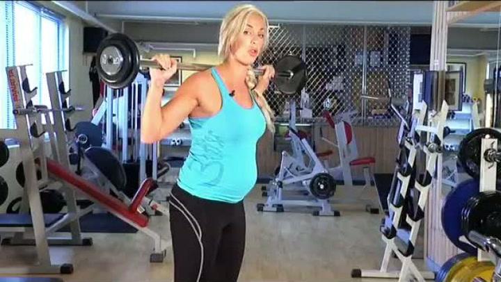 Gravidtrening: Hvordan bevare rumpe og lår