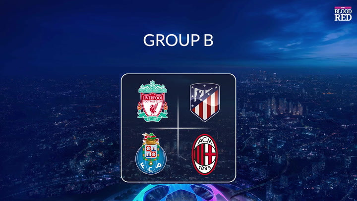 Champions League draw in full as Liverpool get tough group and Lionel Messi  set for Man City clash - Liverpool Echo