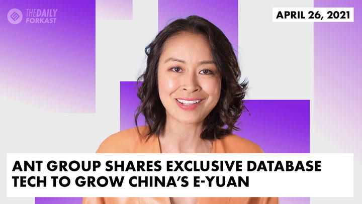 Ant Group Shares Exclusive Database Tech to Grow China's E-Yuan
