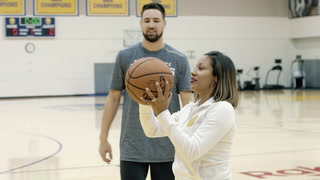 The Warriors' Klay Thompson Takes On ... Shanelle