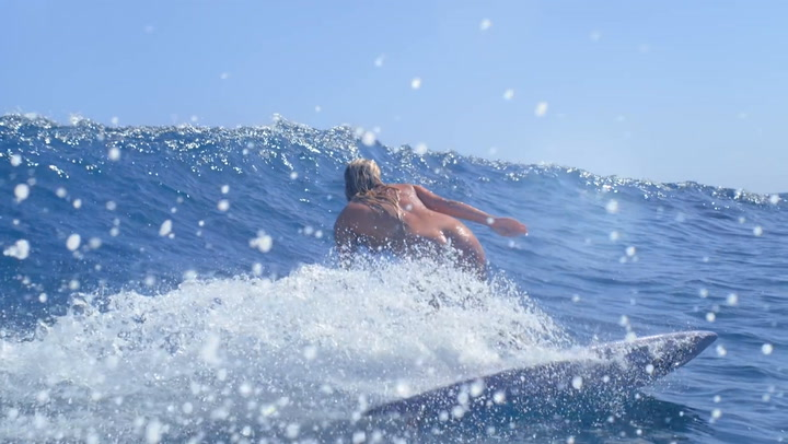 Flick Palmateer made a 4-minute nude surf film.