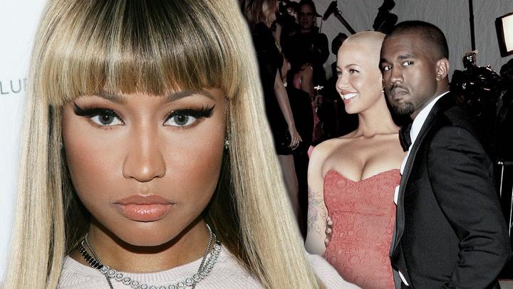 Nicki Minaj Shares Baby Photo & Amber Rose Slams Kanye West
