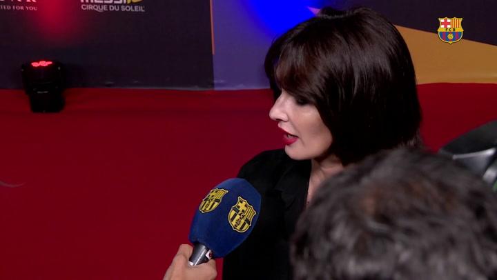 Las reacciones de los famosos en la alfombra roja del estreno mundial de 'Messi10'
