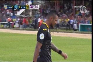 Mario Martínez falló un penal y los aurinegros dejaron ir el empate ante Real de Minas