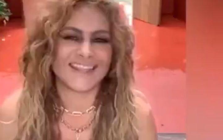El extraño vídeo de Paulina Rubio