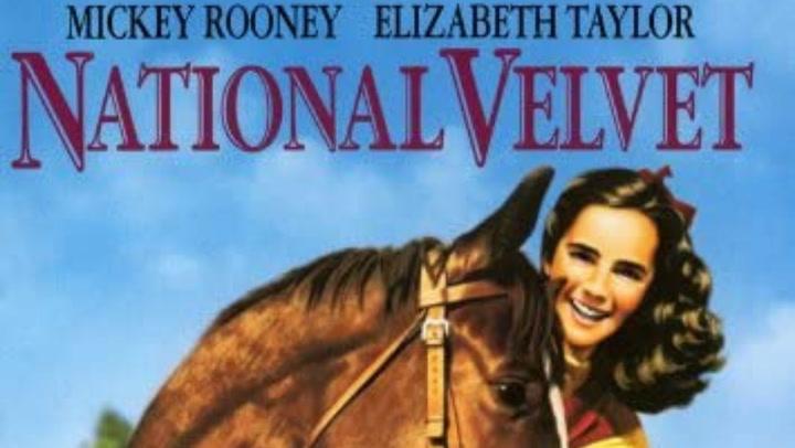 Tráiler oficial de la película National Velvet (1944), con  Mickey Rooney y Elizabeth Taylor