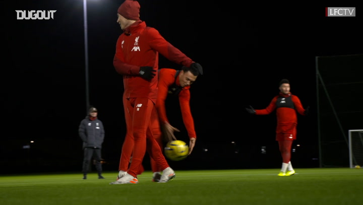 Henderson and Minamino show off control ahead of Spurs