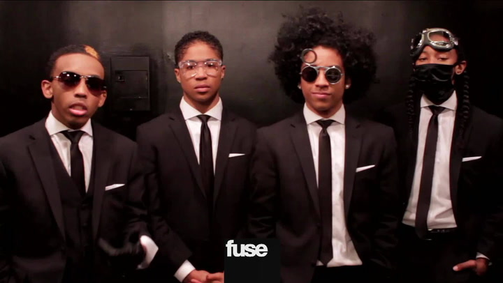 """Behind The Scenes At Mindless Behavior's """"Keep Her On The Low"""" Video Shoot"""