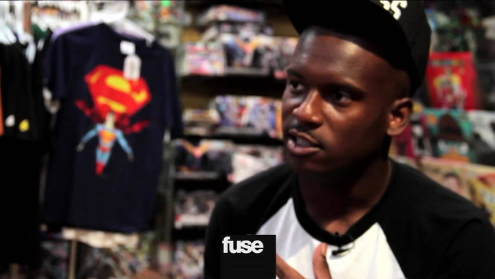 Interviews: Murs and Fashawn Comic Book Store Interview