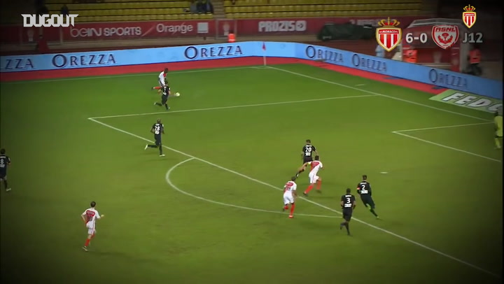 All Of Kylian Mbappe's Ligue 1 Goals For AS Monaco