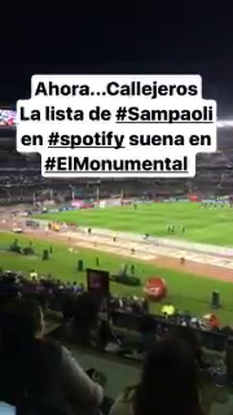 La lista de canciones de rock que Sampaoli eligió para recibir a la selección en el Monumental