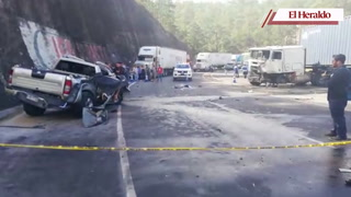 Un oficial retirado entre los fallecidos del accidentre en carretera CA-5