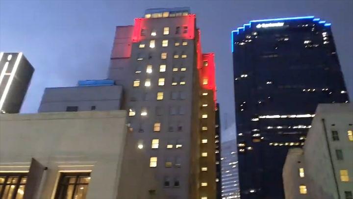 Tornado sirens ring through Dallas