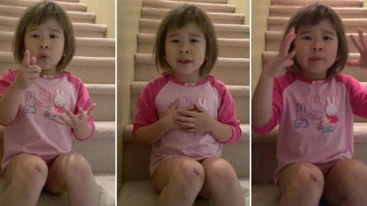 Jenta tar alvorspraten med skilte foreldre