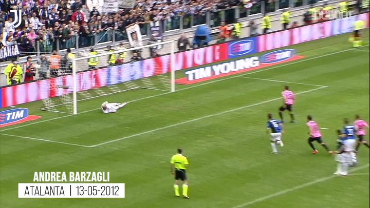 First Juventus Goals: Barzagli, Pirlo, Emerson, Trezeguet, Platini