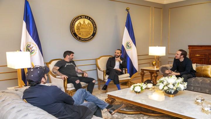 'Bitcoin Ambassadors' Meet With President of El Salvador