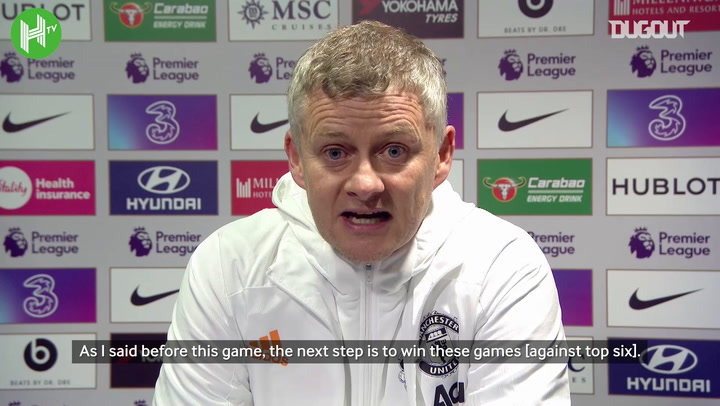 Solskjaer concerned referees have been influenced against Manchester United