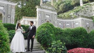Lisa + Dean | Italy, Italy | A Villa