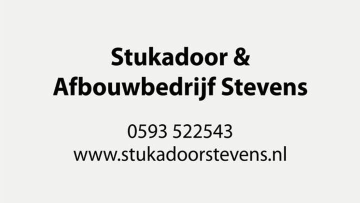 Stevens Stukadoor en Afbouwbedrijf