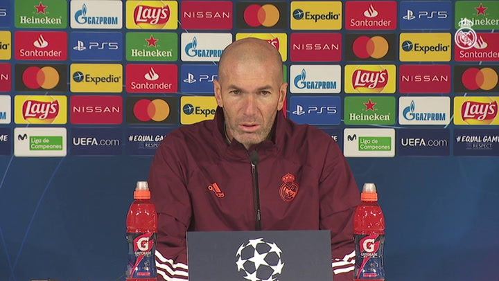 La rueda de prensa de Zidane: