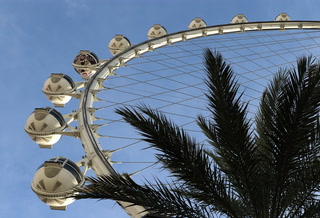 High Roller observation wheel turns five