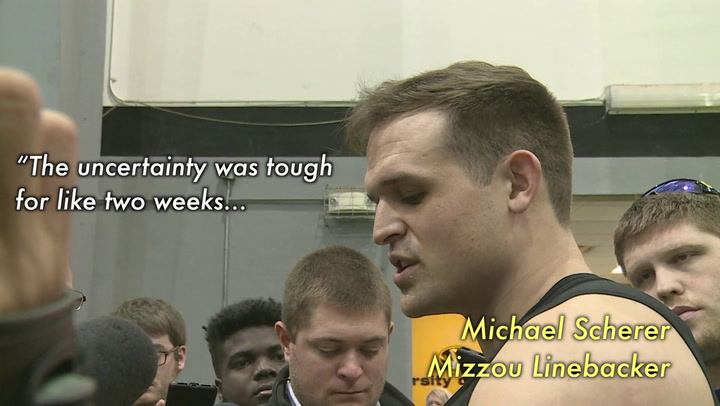 Michael Scherer says he's ready for the NFL