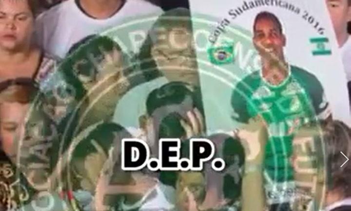 El mundo del fútbol homenajea a las victimas del Chapecoense