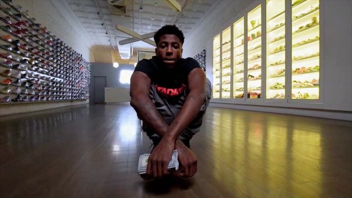 NBA Young Boy: Sneaker Shopping